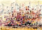 城市风景写意 (2)